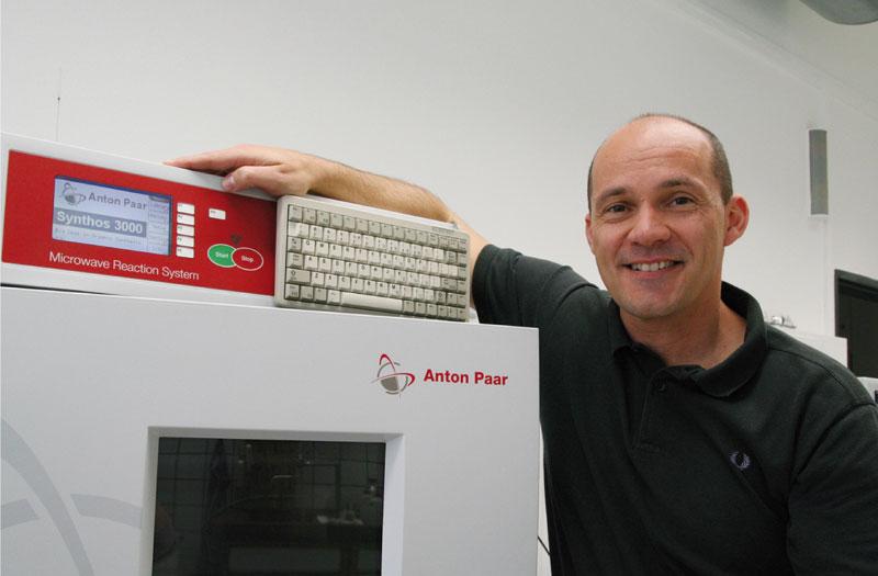 Project leader C. Oliver Kappe. Photo via Karl-Franzens-University of Graz.