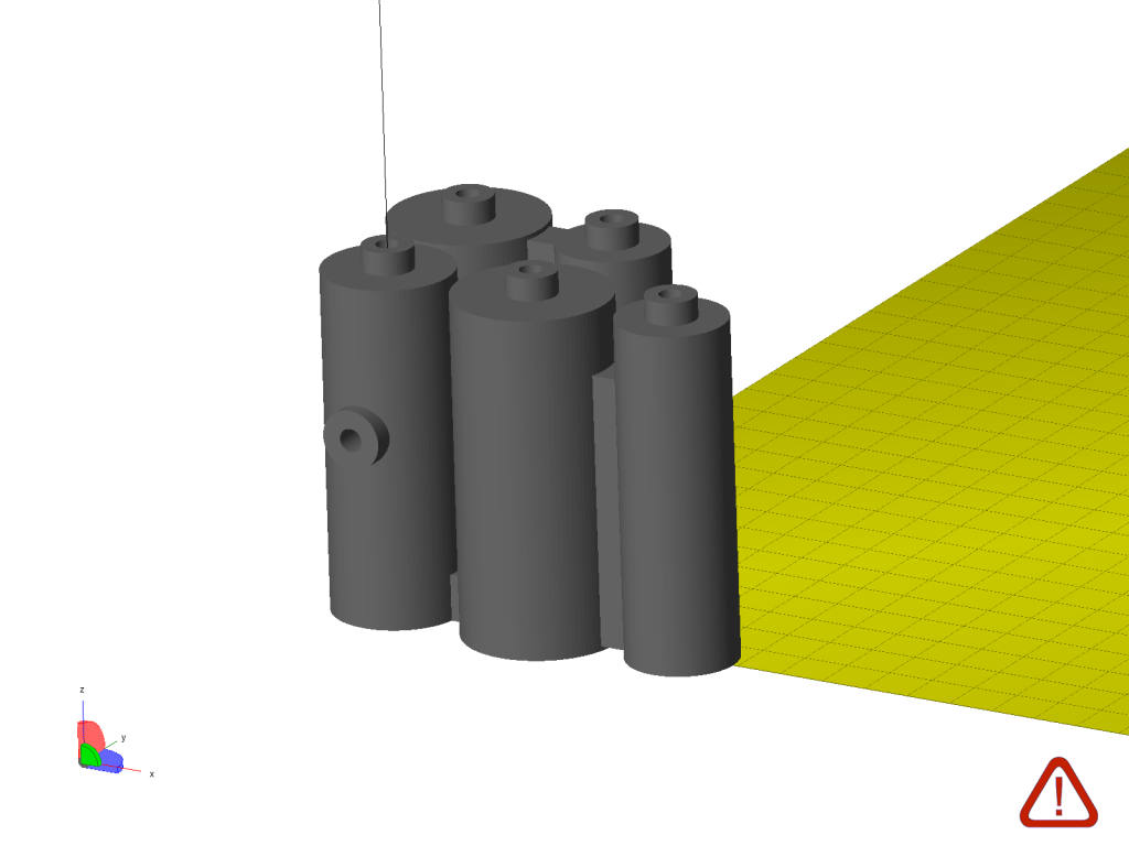 Example .stl of a 3D printable reactor provided by Cronin et al. in Science supplementary materials. Image by Beau Jackson