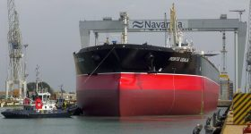 The Monte Udala supertanker. Photo via Navantia