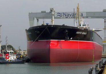 The Monte Udala supertanker. Photo via Navantia