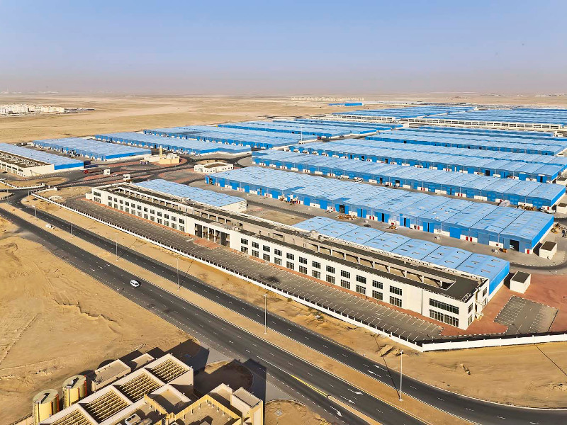 Site of the International Centre for 3D Printing at Dubai Industrial Park. Photo via UAE