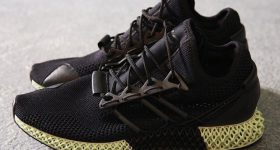 Y-3 futurecraft 4D carbon 3D printed sneakers for Autumn Winter 2018.