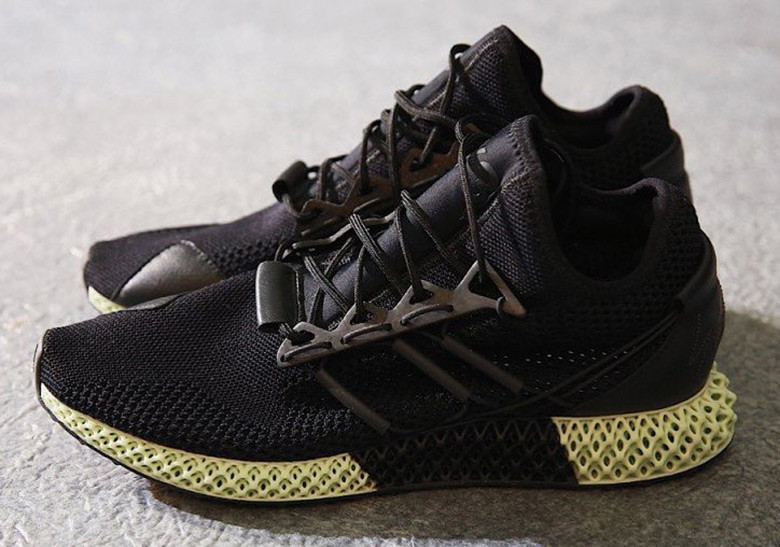 3d124917e980 Y-3 futurecraft 4D carbon 3D printed sneakers for Autumn Winter 2018.