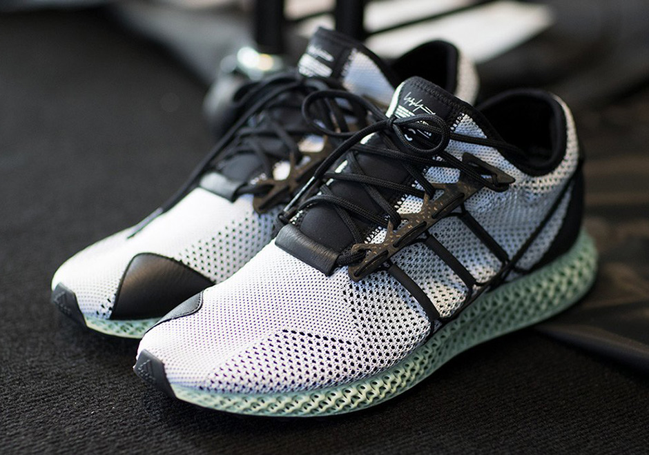 Y-3 futurecraft 4D carbon 3D printed sneakers for Spring Summer 2018.