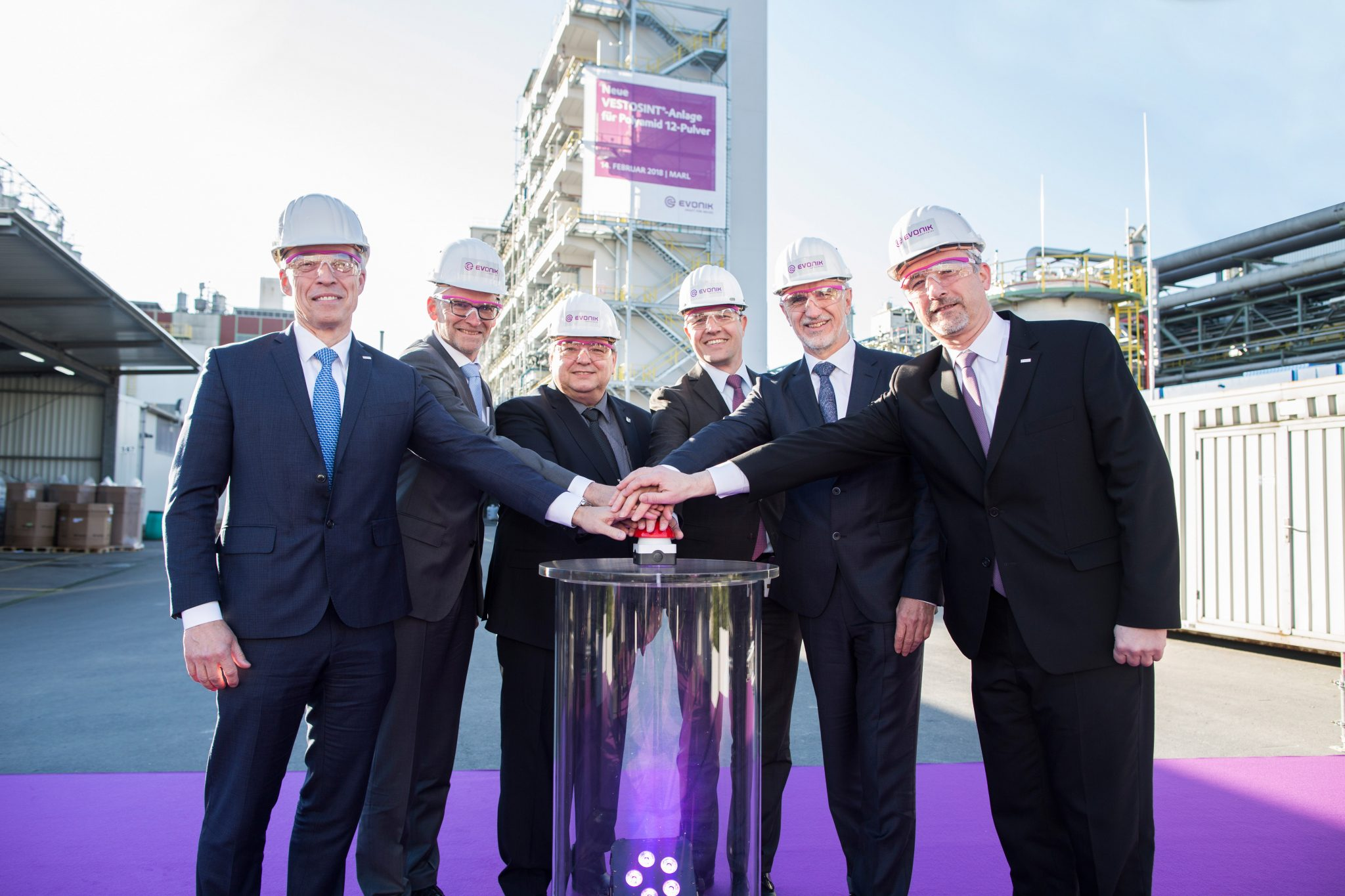 Evonik material production capacity increases by 50% due to 3D