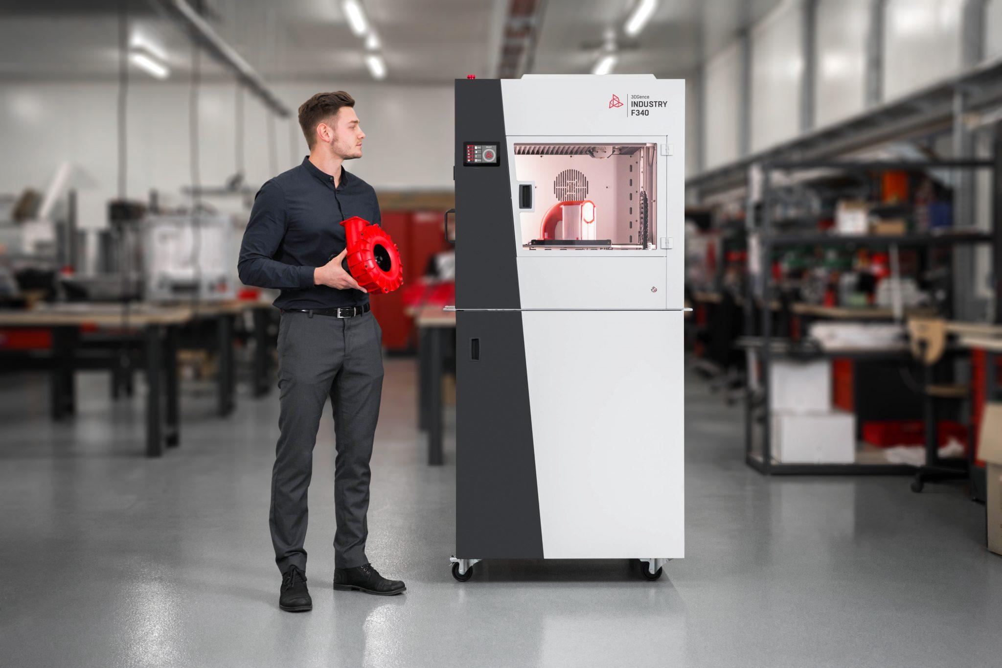 3dgence Industry F340 Pla To Peek 3d Printer 3d Printing Industry