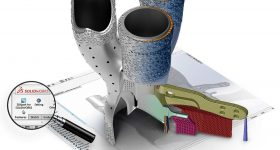 3DXpert delivers a direct Design for Additive Manufacturing (DFAM) workflow for SOLIDWORKS users. Image via 3D Systems.
