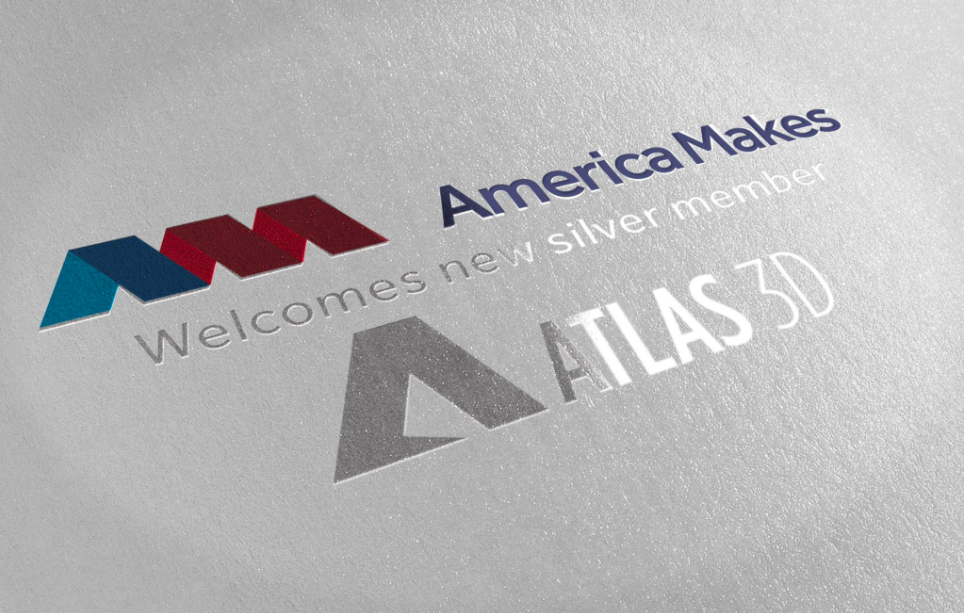 Atlas 3D has held America Makes membership since 2017. Photo via America Makes.