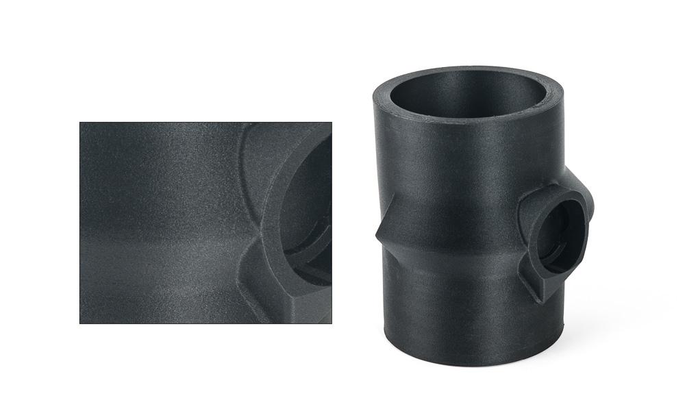 Test components 3D printing using GF30-PP filament. Photo via Owens Corning