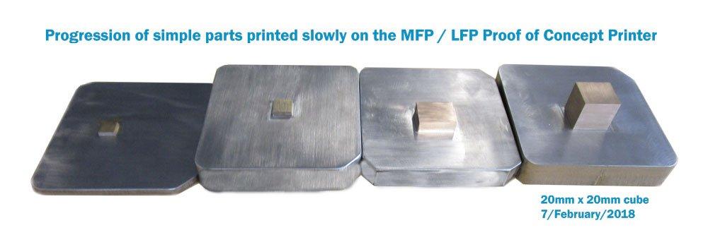 Demo 3D print on the Large Format Printer. Image via Aurora Labs