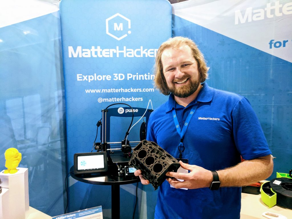 Dave Gaylord, Director of Marketing at MatterHackers. Photo by Michael Petch.