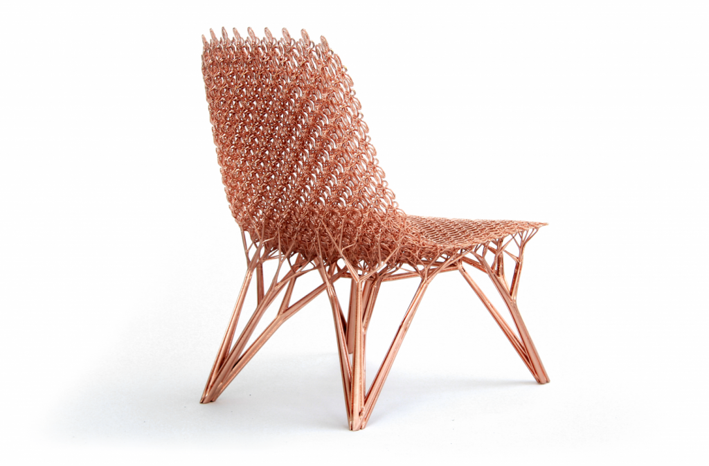 Adaption Chair (2014), part of Laarman Lab's Microstructures Project. Photo via High Museum.