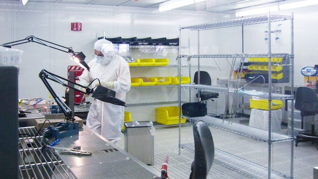 A Matheson Tri-Gas materials research lab. Matheson Tri-Gas is TNSC's largest foreign subsidiary. Photo via Matheson.