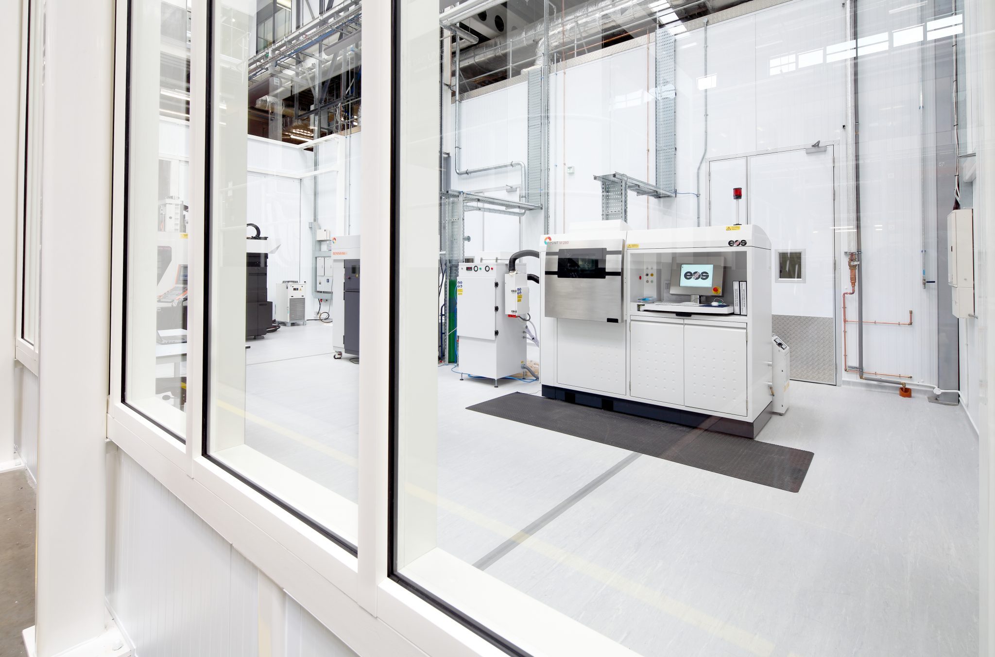 Inside the National Centre for Additive Manufacturing at Coventry's MTC. Photo via The MTC