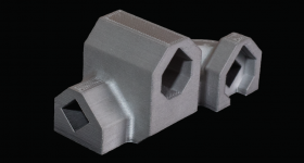 Redesigned and 3D printed actuator housing. Photo via Stanley Black & Decker.
