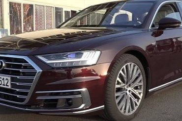 The 2018 Audi A8 features a W12 engine.