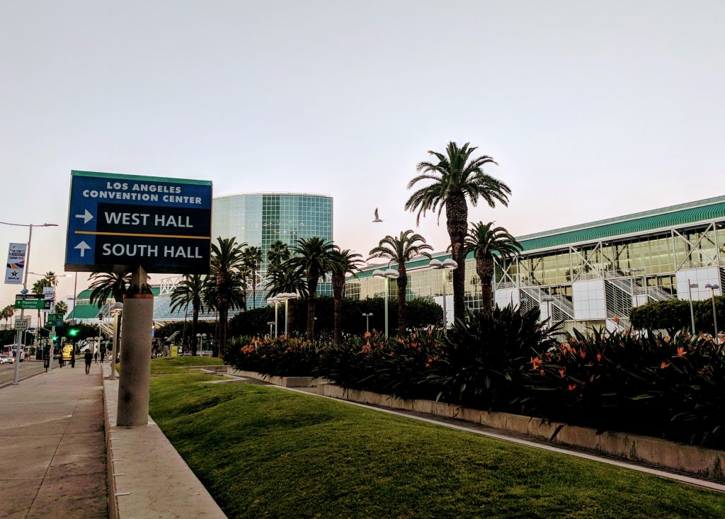 The Los Angeles Convention Center. Photo by Michael Petch.