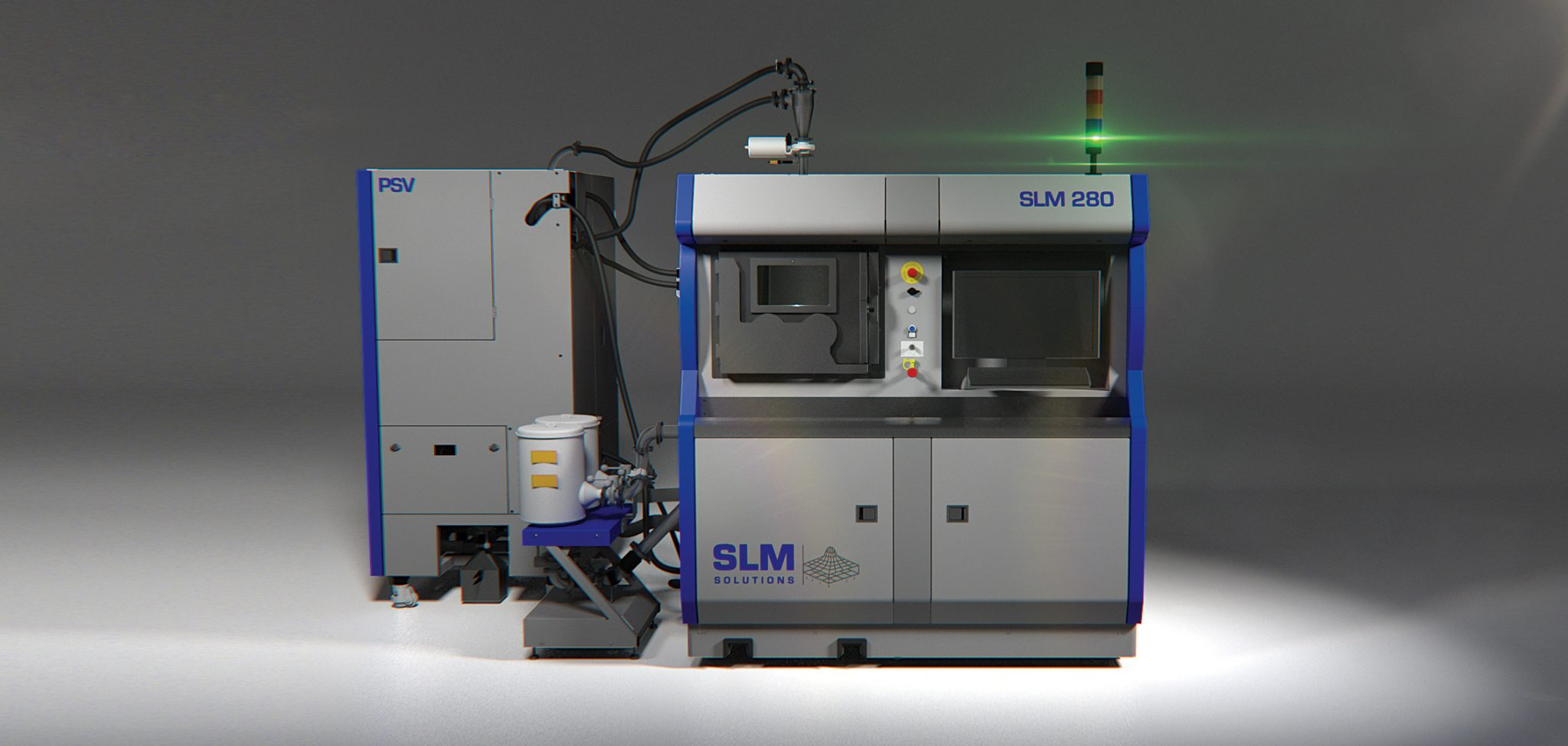 The SLM280 metal additive manufacturing system. Photo via SLM Solutions.