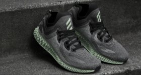 The new adidas AlphaEDGE 4D LTD running shoes. Photo via adidas.