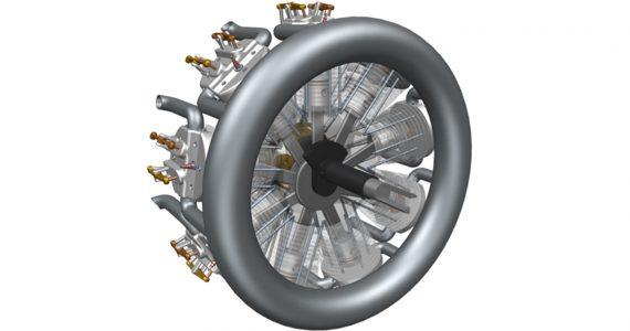 Complex CAD file in CAD Exchange Cloud 3D viewer. Image via CADEX