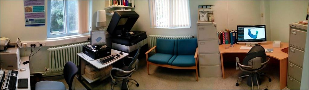 The current 3D lab at NMGH. Photo via Oliver Burley.