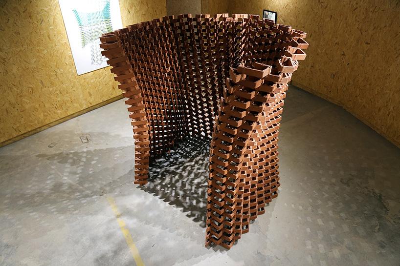 The CeramicINformation Pavillion. Photo via Christian J Lange.