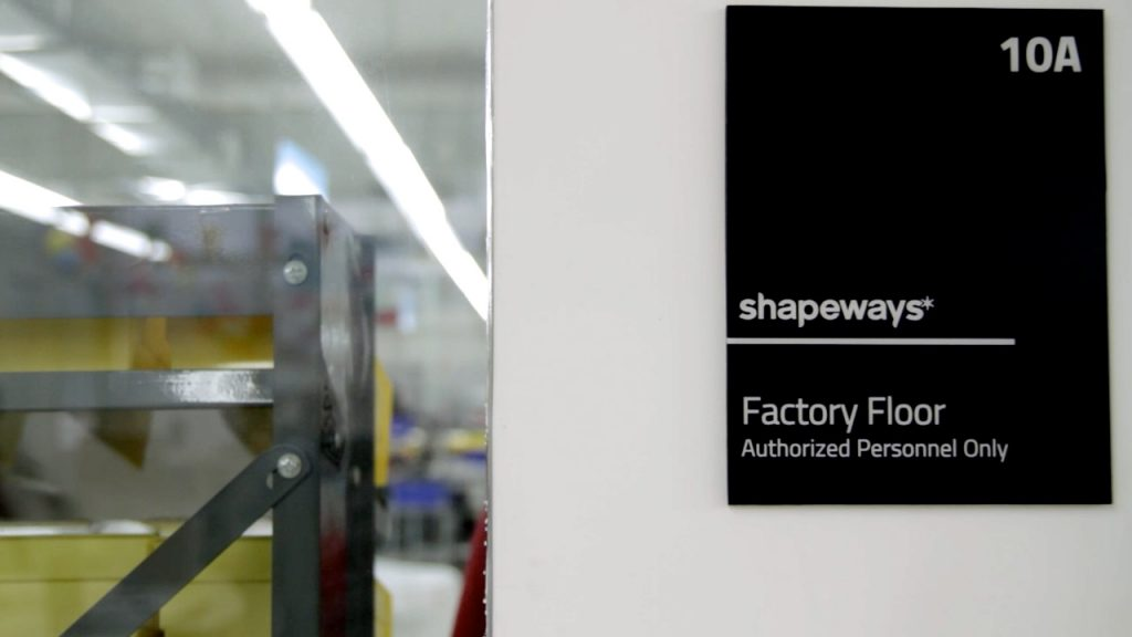 Shapeways Factory Floor. Photo via Shapeways