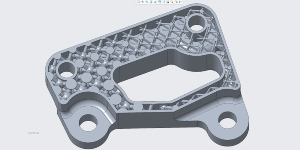 Functional end-use part design in Creo. Photo via PTC.