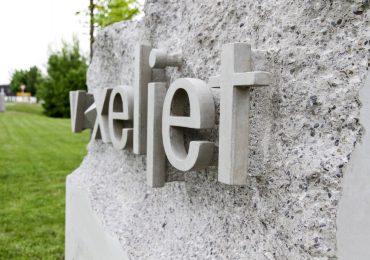 Sign at voxeljet HQ. Photo via voxeljet