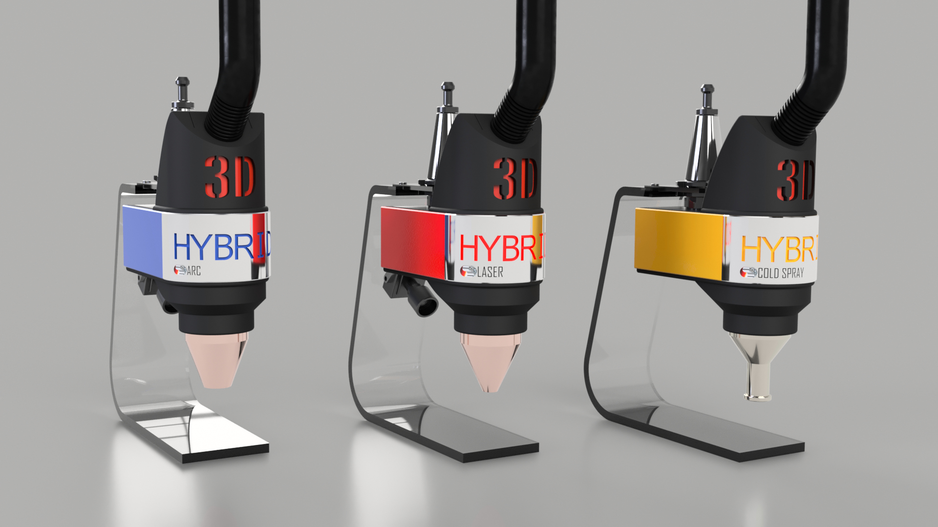 3D-Hybrid releases metal 3D printing toolheads for any CNC