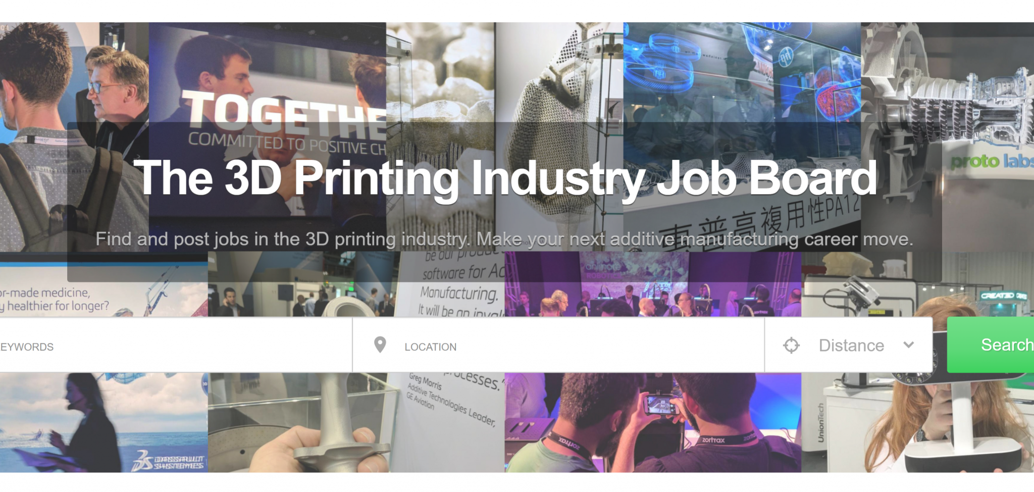 3D Printing Industry Jobs Board