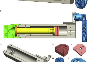 Open-source 3D models of all the 3D printed components required for the LVE. Image via