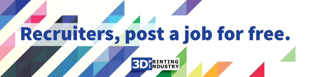 For March only recruiters can post 3D printing jobs for free.