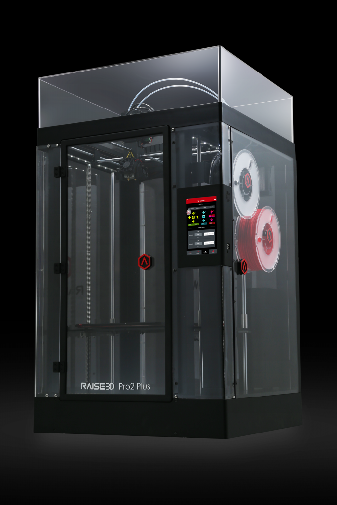 The Raise3D Pro2 Plus 3D printer. Photo via Raise3D.