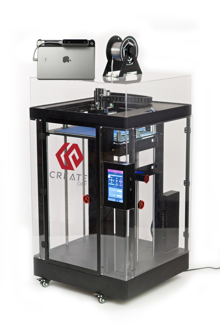 Create O&P's orthotic and prosthetic 3D printing system. Photo via Create O&P.