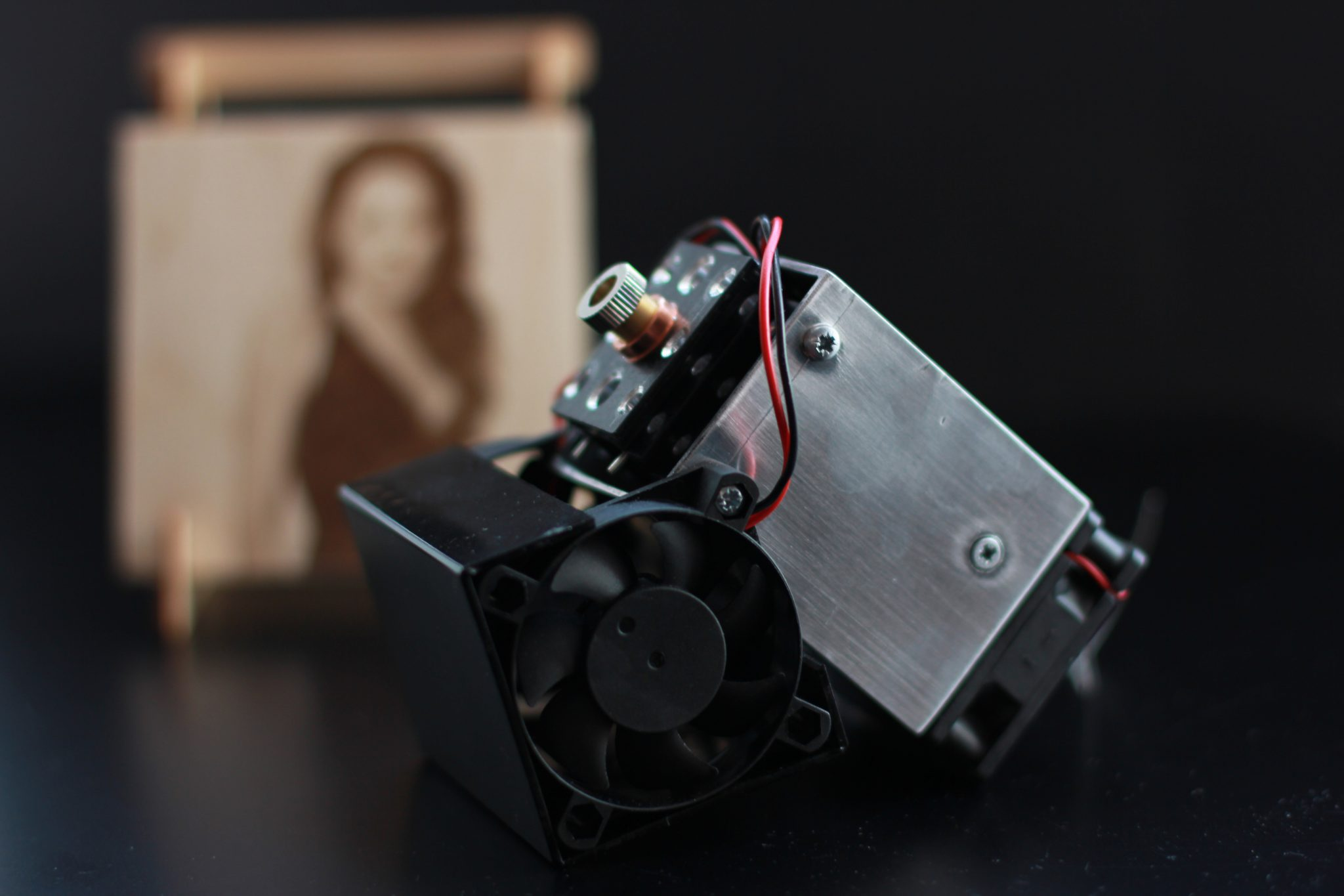 An Endurance 10 Watt Laser Attachment For 3d Printers And Cnc To Make A Printed Circuit Board Using Diode With Printer Machines Printing Industry