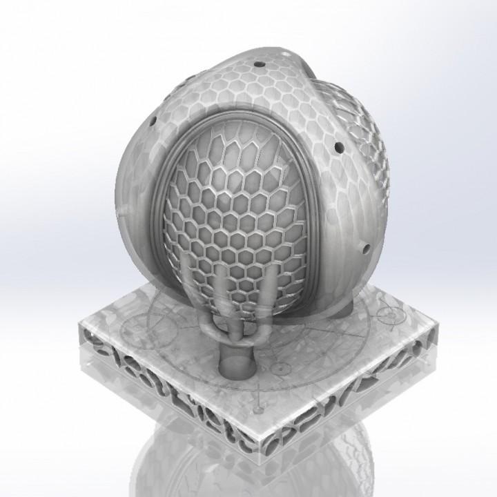Giaocomo's pollen inspired trophy. Image va Giacomo.