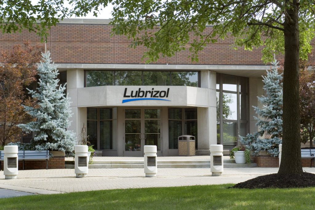 Lubrizol Advance Materials headquarters building in Brecksville, Ohio U.S.A.