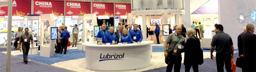 Lubrizol at TCT Asia 2018. Photo via Lubrizol.