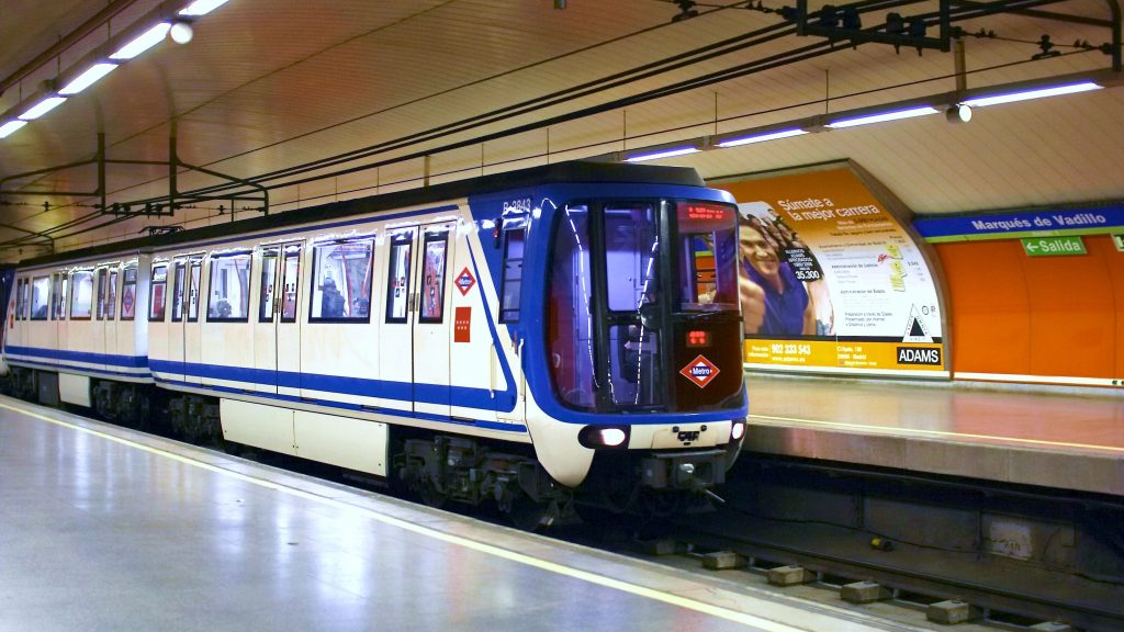 The Madrid Metro is one of Huddesrfield's partners on the Run3Rail project. Photo via Madrid Metro