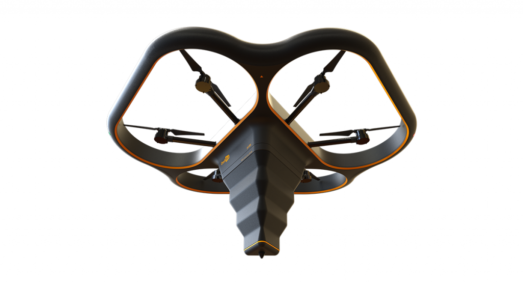 The Fly Elephant drone 3D printer. Image via DediBot