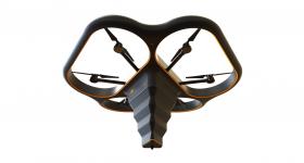The Fly Elephant drone 3D printer. Image via DediBot