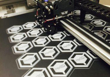 Gigabot 3D prints. Photo via re:3D