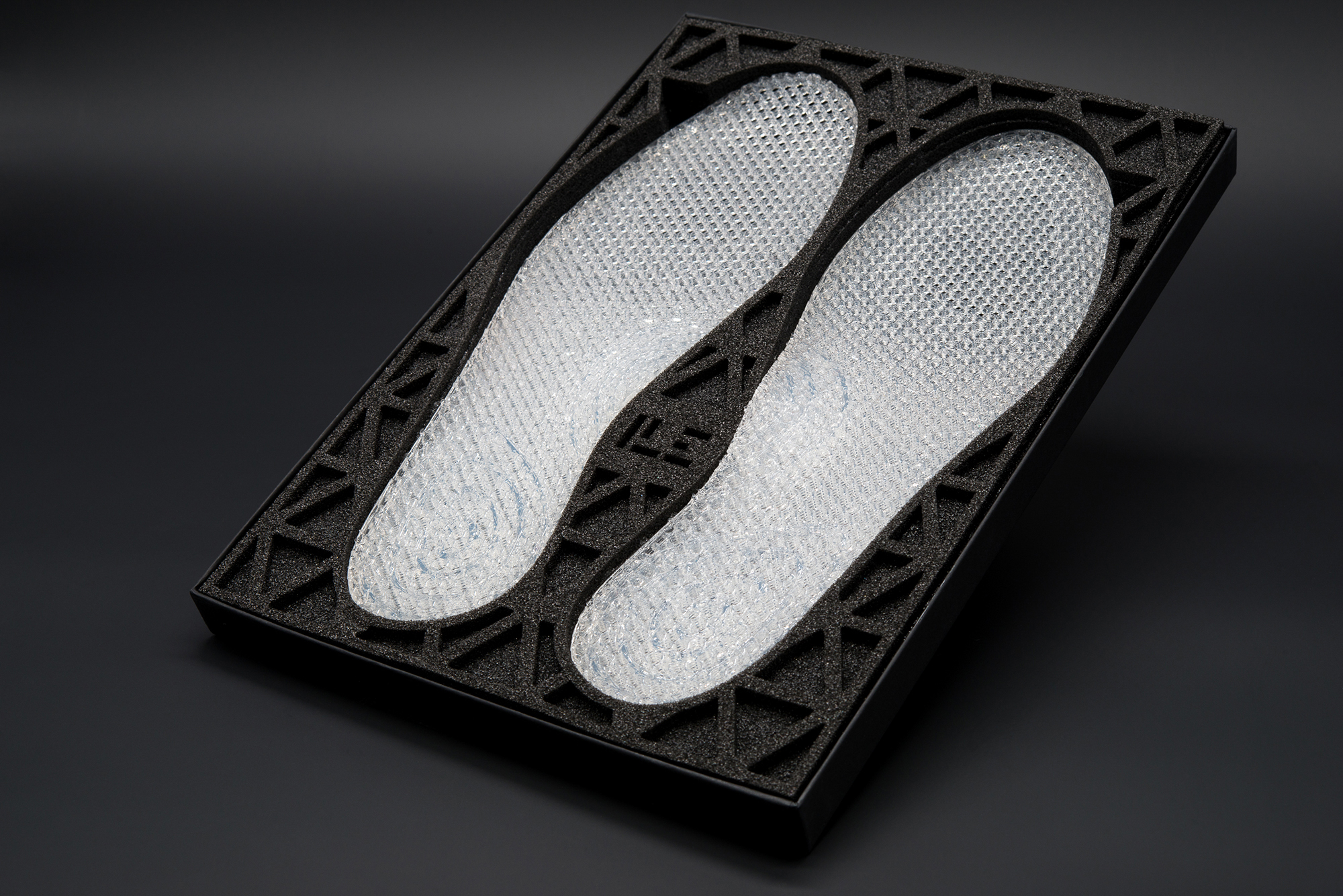 Quant-U silicone midsoles. Photo via Ecco.