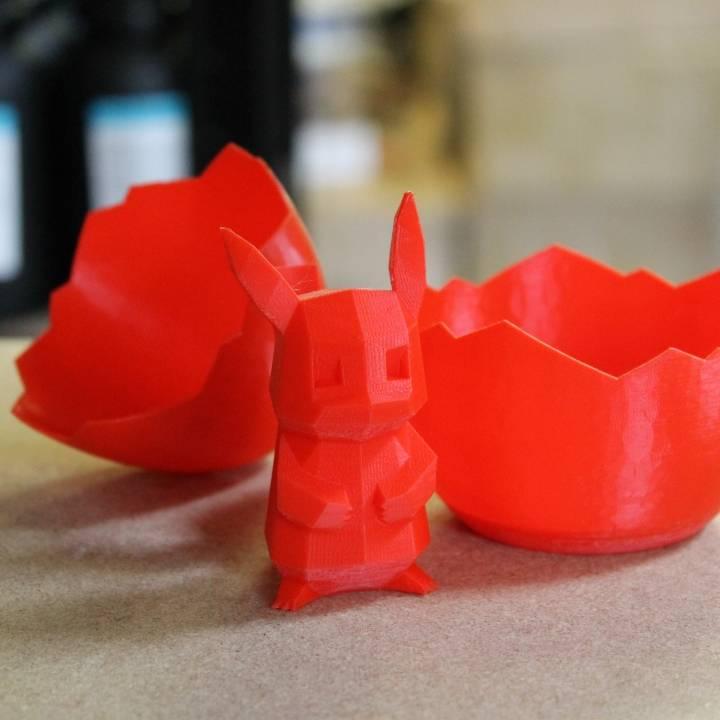 Surpise Pikachu. Design by Agustin Flowalistik. Photo via MyMiniFactory.com.