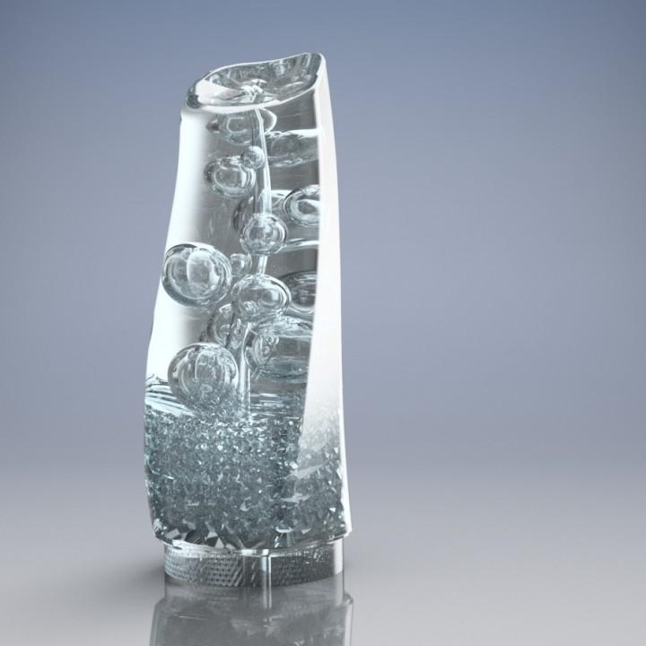 Tadashi Hattori's Aqua Tower trophy. Image via Tadashi Hattori.