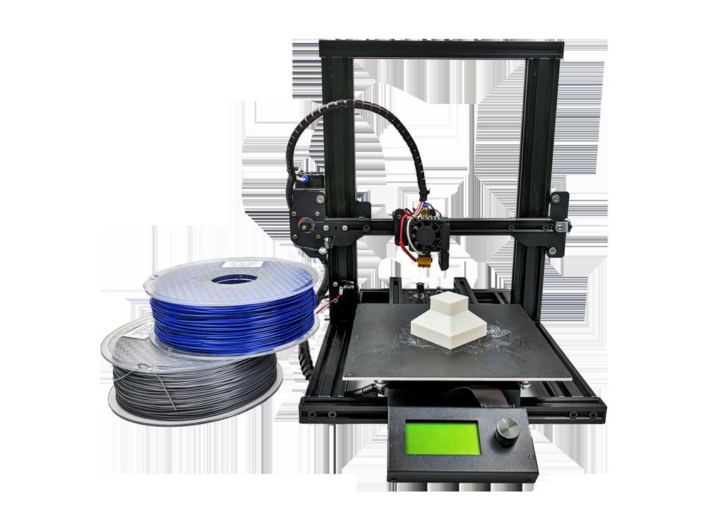 The Crane Quad is M3D's latest 3D printer. Image via M3D.