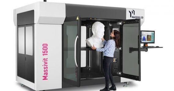 The Massivit Exploration 1500 3D printer. Image via Massivit.