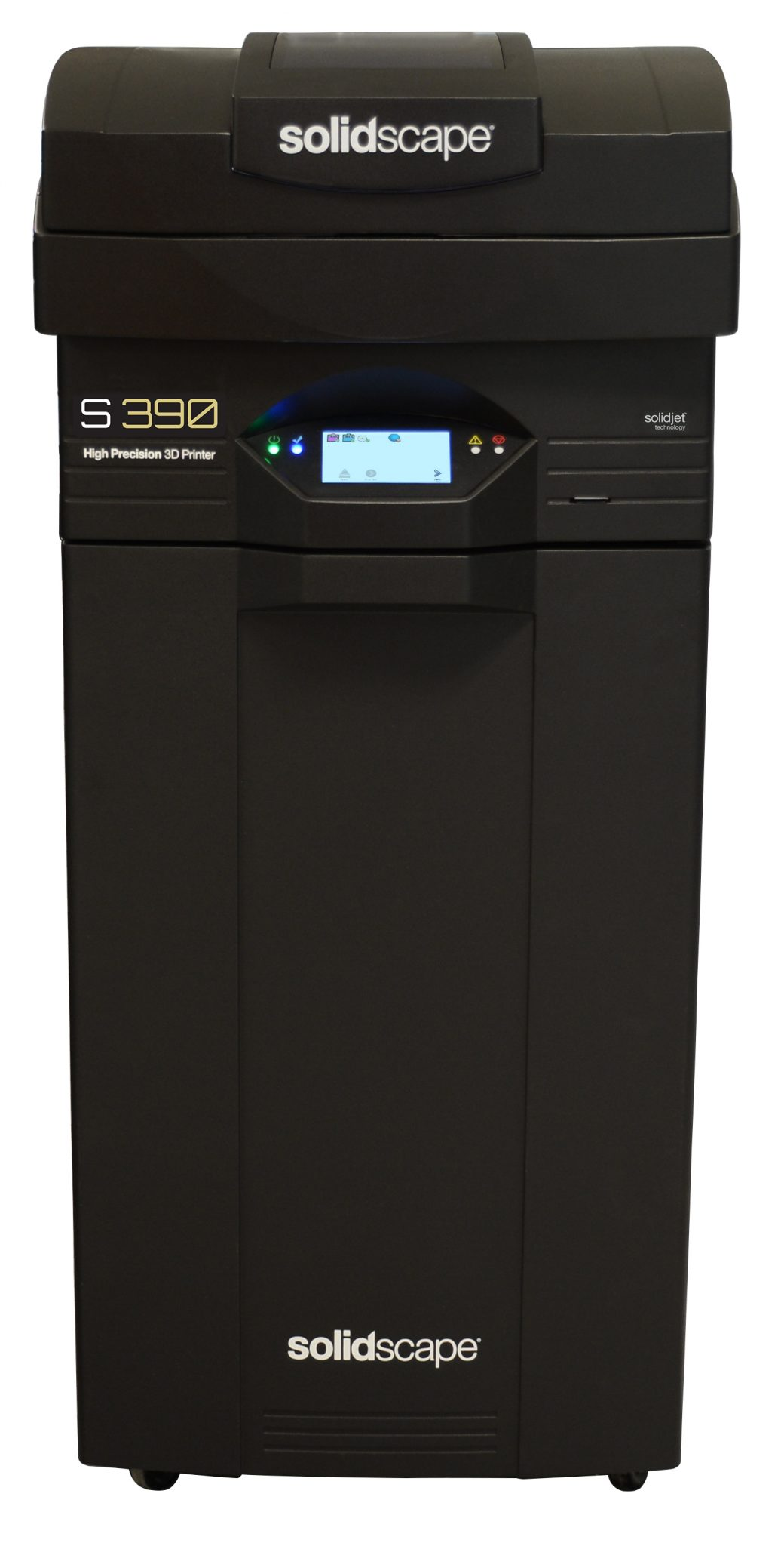 The Solidscape S390 on its base. Photo via Solidscape.