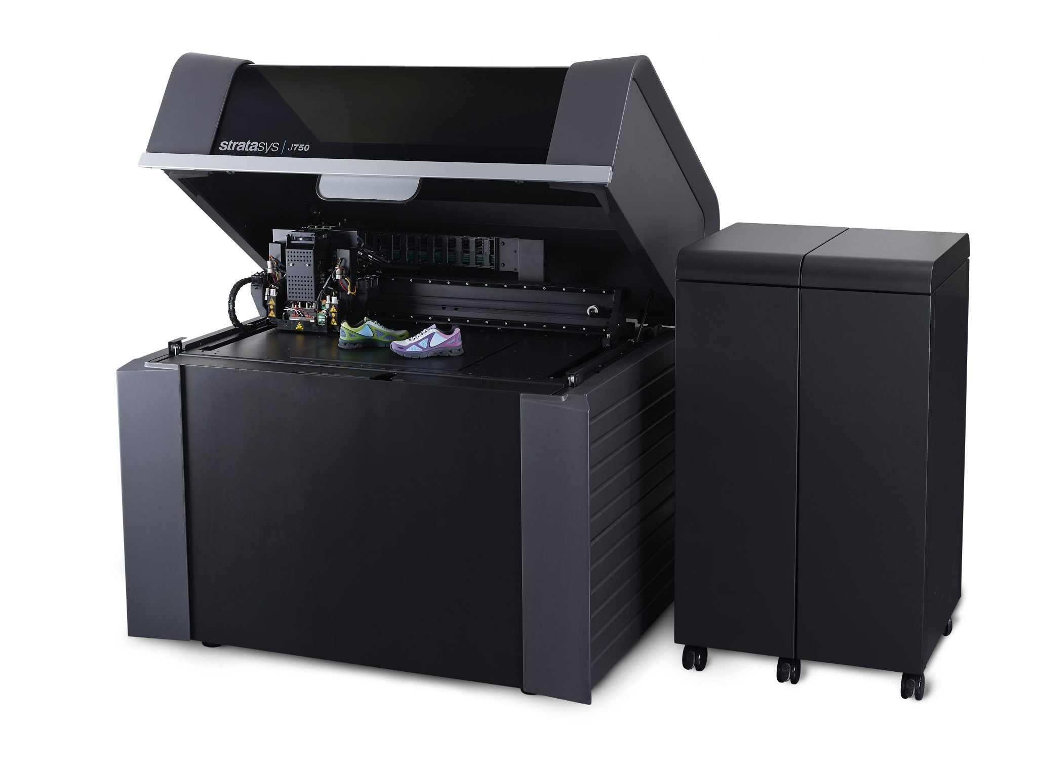 The Stratsys J750 the world's only full color, multimaterial 3D printer